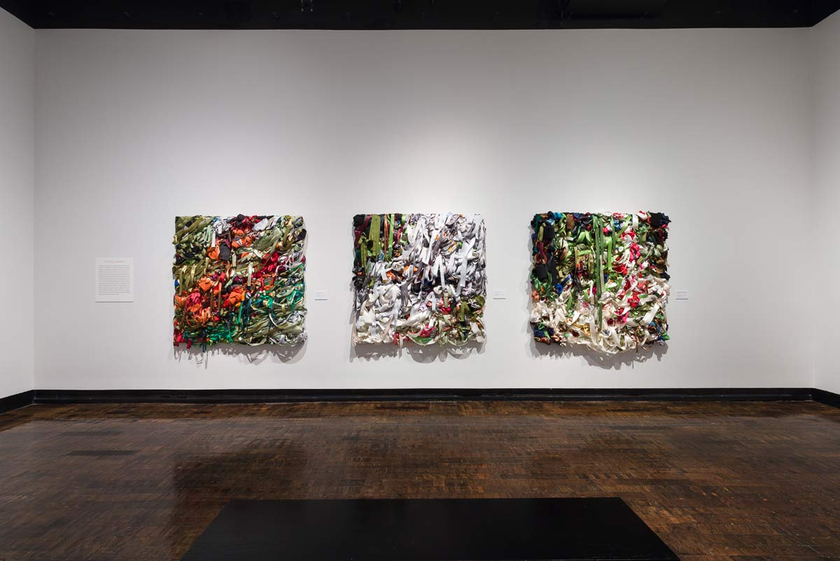Installation image from Tempest at Frist Center for the Visual Arts, Nashville, 2017